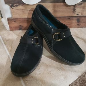 Women Keds Aisley Black Suede Loafers Size 6